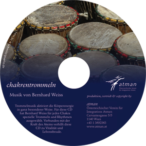 Audio CD Design Chakrentrommeln